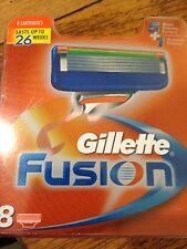 Pack 8 hojas de afeitar de Gillette Fusion