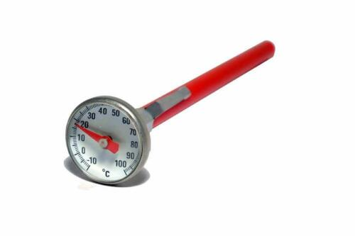 DIAL THERMOMETER 25MM STAINLESS STEEL PHOTOGRAPHIC FILM PROCESSING