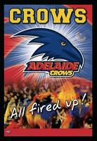 Afl Adelaide Crows Logo Adelaide Football Club Posters Framed
