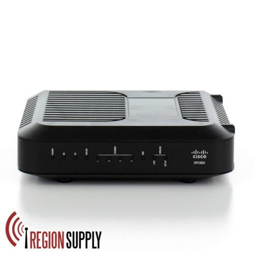 Cisco DPC3825 Wireless Gateway Cable Modem Router Docsis 3.0 Wide Open West WOW