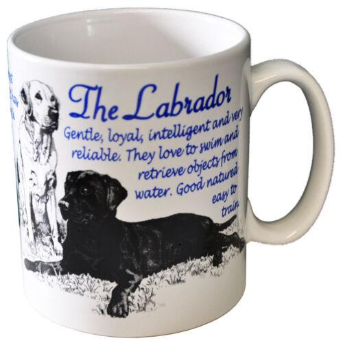 Labrador Retriever Dog Bone China Breed Mug