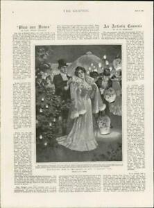 1901-Antique-Print-LONDON-Regents-Park-Evening-Fete-Society-Arts-402