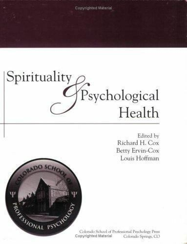 Spirituality and Psychological Health  Richard H. Cox  Good  Book  0 Paperback 9