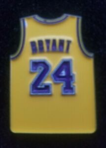 Details about Kobe Bryant Jersey Pin,