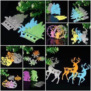 Christmas-DIY-Metal-Cutting-Dies-Stencil-Scrapbook-Paper-Cards-Crafts-Embossing