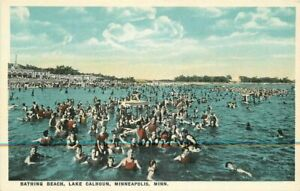 Bath-House-Bathing-Beach-Lake-Calhoun-1920s-Postcard-Minneapolis-Minnesota-1497