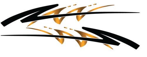 2 RV Car Truck Trailer Side Accent Decals Graphics Stripes Vinyl GPB731