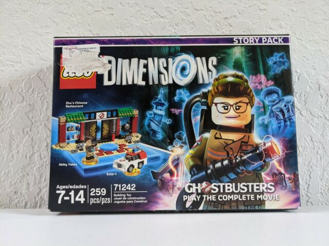 LEGO Dimensions GHOSTBUSTERS Story Pack 71242 - 259 pcs - Abby Yates Ecto-1 NEW