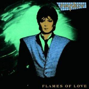 Fancy-FLAMES-OF-LOVE-CD-10-tracks-International-Pop-Nuovo