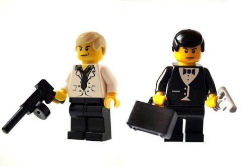 Custom Entworfen Minifigur 007 James Bond /& Raoul Silva Gedruckt auf Lego