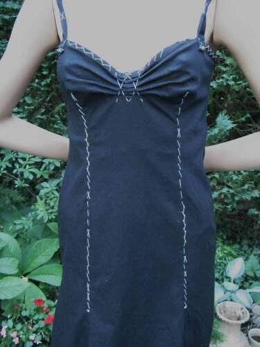 36 Außergewöhnlich Kleid Cheapandchic Gr 34 Moschino Zierstich Schwarz wnFZzqU6Ff