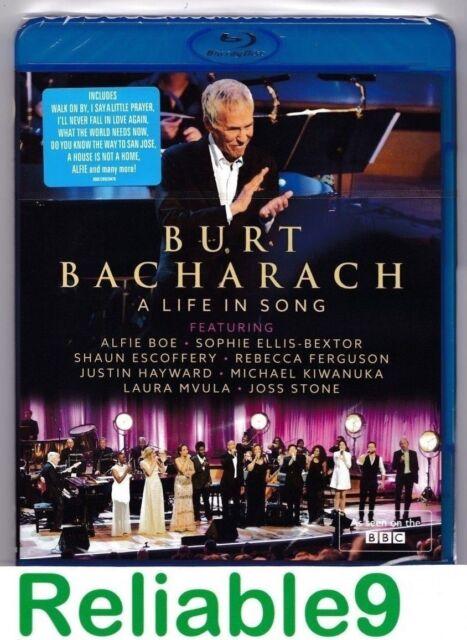 Burt Bacharach+Alfie Boe+Joss Stone+Justin Hayward- A life in song Bluray Sealed