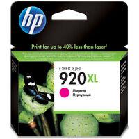 GENUINE HP HEWLETT PACKARD HP 920XL MAGENTA INK CARTRIDGE CD973AE