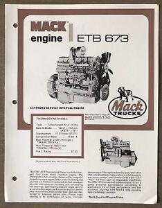 1979-Mack-Thermodyne-Diesel-ETB-673-Engine-original-Australian-sales-brochure