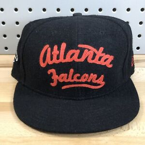 Retro-Atlanta-Falcons-NFL-Football-New-Era-9Fifty-Wool-Blend-Leather-Strap-Hat
