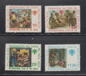 Philippine-Stamps-1979-International-Year-of-the-Child-complete-set-MNH