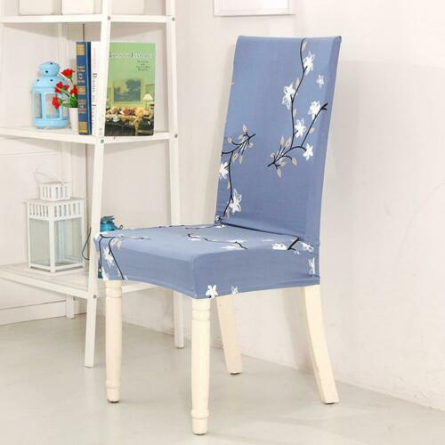 1//4//6PCS Dining Chair Covers Wedding Slipcovers Stretch Seat Covers Home Decor