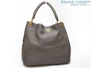 e0bc274c1d65 Auth PRADA Hobo Leathe One shoulder bag Tote bag Hand bag BR4829 | eBay