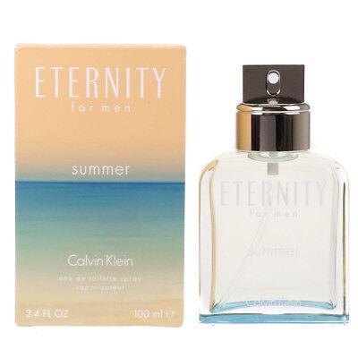 NEW Calvin Klein Eternity For Men Summer 2015 100ml Eau De Toilette