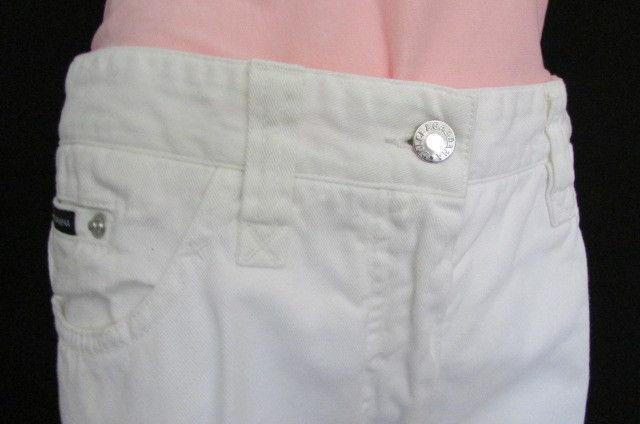 Dolce & Gabbana Gebraucht Gebraucht Gebraucht Damen Weiß Bekleidung Jeans D&g Modische Hose Größe 8  9126af