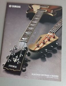 yamaha guitars bass amps accessories catalog 2010 brochure 34 pages worldwide ebay. Black Bedroom Furniture Sets. Home Design Ideas