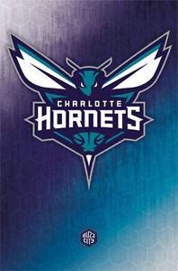 CHARLOTTE-HORNETS-LOGO-POSTER-22x34-SHRINK-WRAPPED-NBA-BASKETBALL-13369
