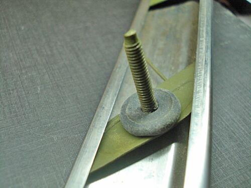 """fender body side quarter moulding clips nuts sealer 1-1//4/"""" to 1-1//2/"""" Mopar NORS"""