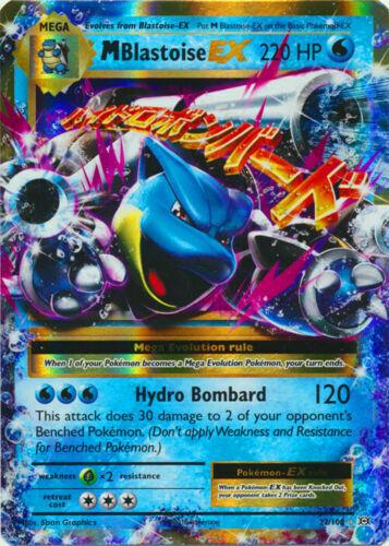 22//108 Ultra Rare NM//M Evolutions Mega-Blastoise-EX Pokemon NEW