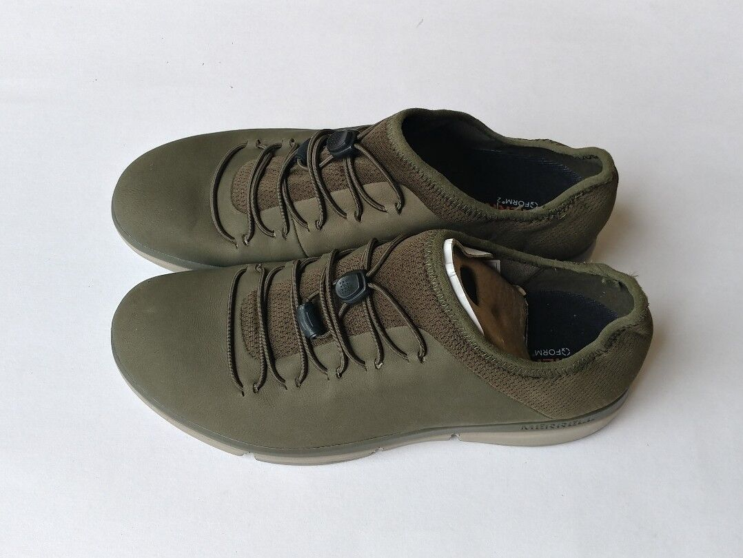 Merrell Women's Zoe Sojoum Lace Leather Q2 Dusty Olive shoes size 7