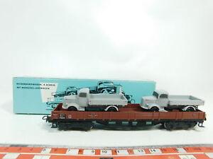 Bj342-0,5 # Märklin H0 / Ac 4515 Wagon À Bords Bas Db Avec Mercedes-lastwagen