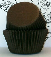 Brown Solid Color - Glassine Cupcake Liners - 500 Ct. Standard Size