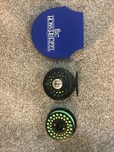 Ross-Gunnison-I-Fly-Fishing-Reel-and-Spare-Spool
