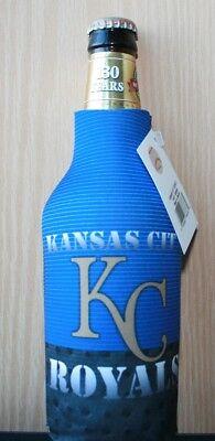Kansas City Royals Stahl Reißverschluss Flaschenkühler Coozie Insulator Mlb Baseball & Softball