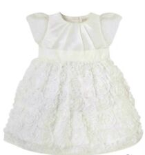 Bnwts White Mothercare Flower Dress Christening Bridesmaid 2-3 Years Old £30