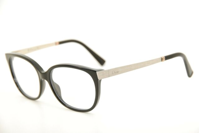 Authentic Christian Dior CD 3250 Black 53mm Italy Frames Eyeglasses ...