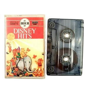 An-Hour-Of-Disney-Hits-1986-Rare-Cassette-Tape-Inc-Various-Artists-by-EMI-Gold