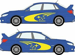 Subaru-Impreza-WRC-rally-vinyl-sticker-kit-FULL-SHADOW-SET-Decal-Graphic