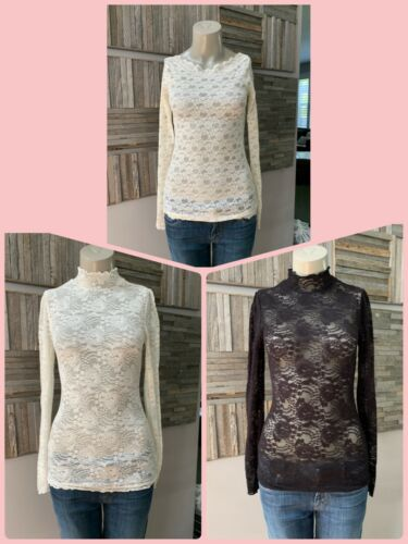 FREE PEOPLE - Lot of 3 - Size Small - Lace Turtlen