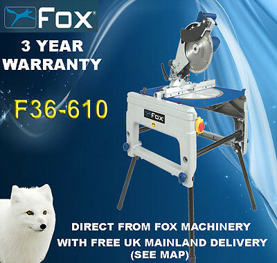 Woodworking Fox F36-610-240 240V Flip Over saw  Table saw