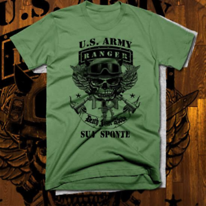 online store e17db 6cec1 Image is loading Army-ranger-T-shirt-sua-sponte-Special-Forces-