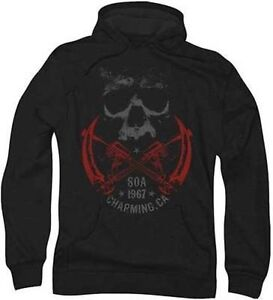 soa crossed guns sons of anarchy biker motorcycle club. Black Bedroom Furniture Sets. Home Design Ideas