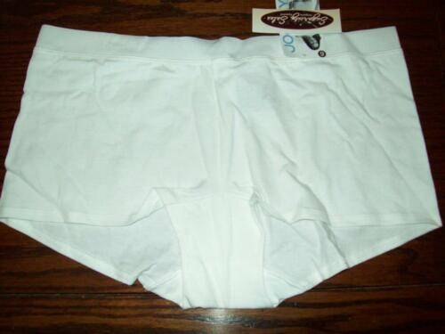 NWT JOCKEY Cotton Stretch BOYLEG BOYSHORT PANTIES Modern Fit 2902 100 WHITE