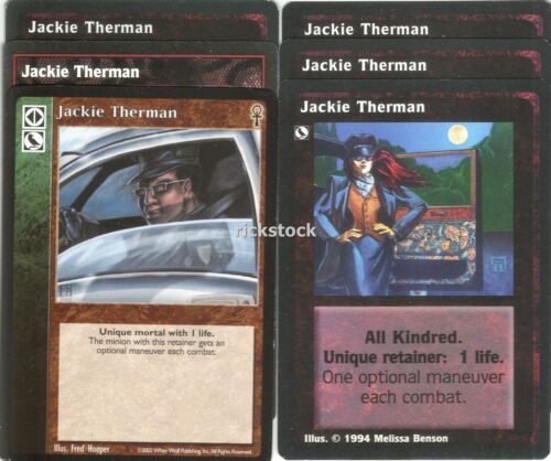 Jackie Therman x6 CE VTES Jyhad Lot B