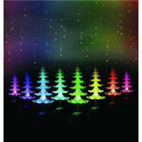LED Solar Powered Acrylic Christmas Trees For Outdoor Festive Garden Decoration