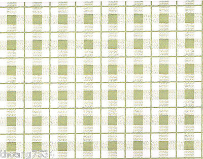 Taupe Beige Tan Plaid Gingham Check Contact Paper Shelf Liner Drawer Peel Stick