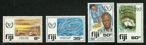 Album-Treasures-Fiji-Scott-438-41-Coastal-Scenes-MNH