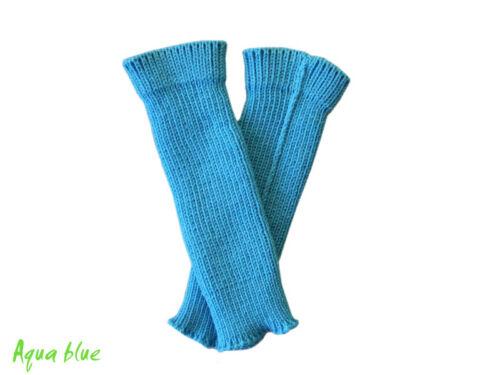 Babystulpen MERINO WOLLE kind baby babytragetuch gestrickt beinlinge leg warmers