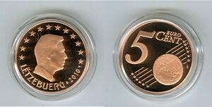 Luxemburg  5 Cent  PP/Proof  (Wählen Sie zwischen: 2002 - 2017)