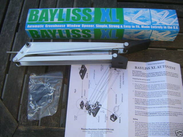 Bayliss Replacement cylinder for XL Opener Black