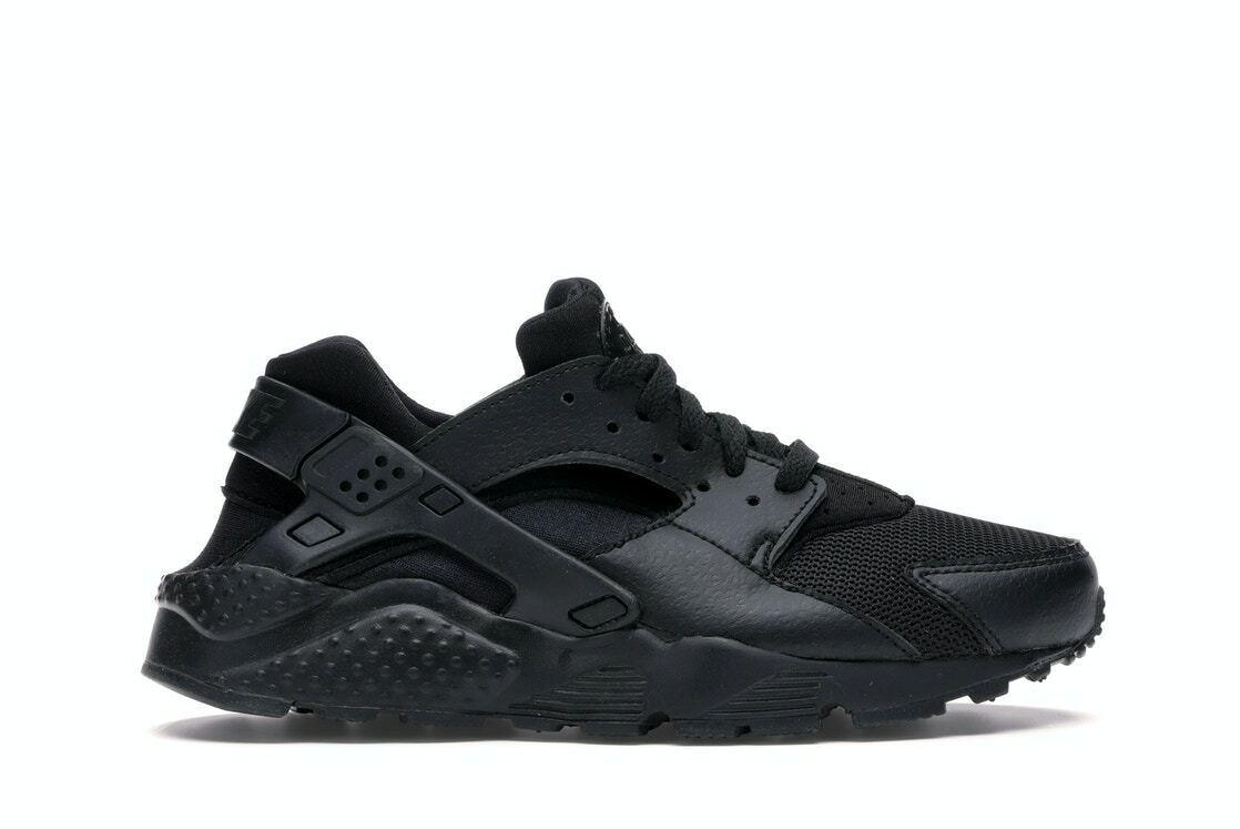 Big Kid's Nike Air Huarache Run Black